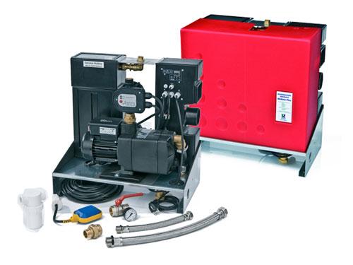 Centrale deszczowe są kompletnymi urządzeniami sterującymi zagospodarowaniem wody deszczowej w budynkach.